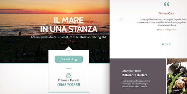 Villa Tramonto - New Website 2014